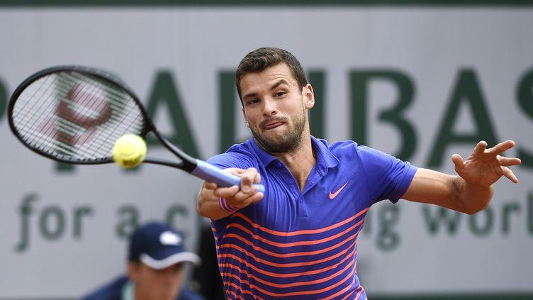 Grigor Dimitrov (Roland-Garros 2015) (MIGUEL MEDINA / AFP)