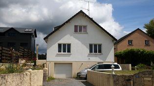 La maison de MIchel Fourniret à Ville-sur-Lumes (Ardennes), le 19 juin 2020, avant des fouilles dans le cadre de l'enquête sur ladisparition d'Estelle Mouzin en 2003. (FRANCOIS NASCIMBENI / AFP)