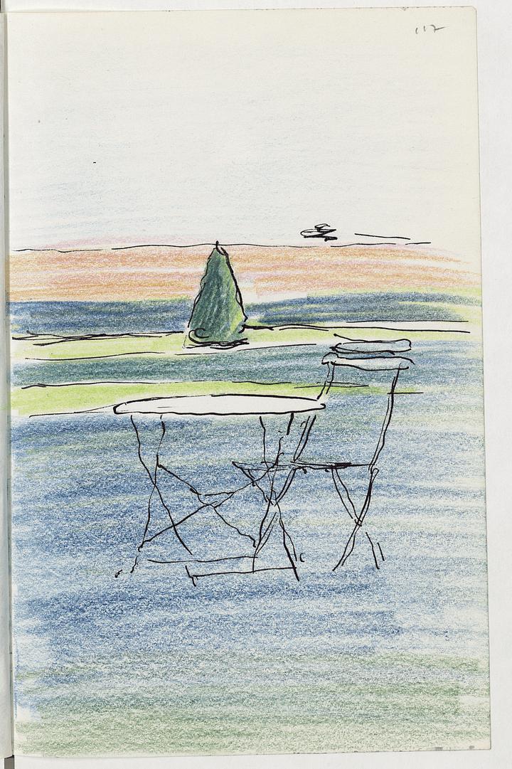 Ymare, « ombres vertes et dorées »  (BnF, Centre national de la littérature pour la jeunesse, département Littérature et art)