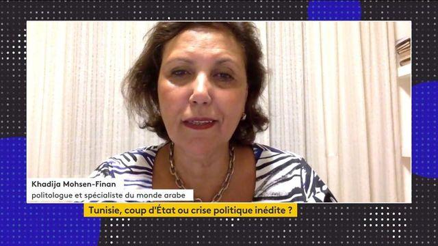 Tunisie : la situation politique décryptée par Khadija Mohsen-Finan, politologue et spécialiste du monde arabe