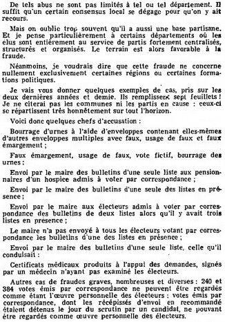 Extrait d'une intervention du ministre de l'Intérieur, Michel Poniatowski, le 4 décembre 1975 devant l'Assemblée nationale. (ASSEMBLEE NATIONALE)