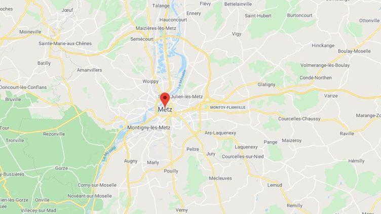 Metz (Moselle). (GOOGLE MAPS)