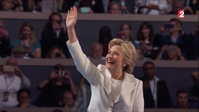 Convention démocrate : Hillary Clinton veut rassembler les États-Unis