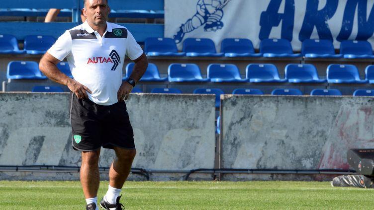 Joël Rey ne sera plus l'entraîneur des avant de la Section paloise la saison prochaine (JEAN-PIERRE MULLER / AFP)