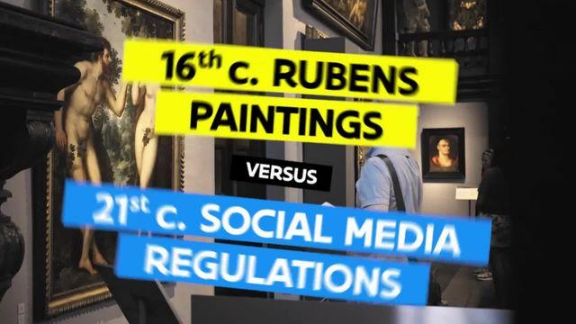Après la censure d'un de ses tableaux sur Facebook, un musée belge a engagé de faux agents de sécurité chargés de protéger de la nudité les visiteurs qui ont un compte sur le réseau social.