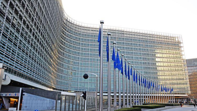 Le siège de la Commission européenne, à Bruxelles. (MaxPPP)