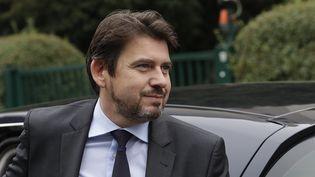 Le directeur de la communication et de la presse d'Emmanuel Macron, Sylvain Fort, le 13 septembre 2018 à Bagnolet (Siene-Saint-Denis). (THOMAS SAMSON / AFP)