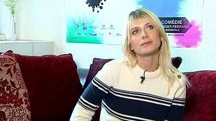 """Pendant trois ans Mélanie Laurent est artiste associée de la Comédie de Clermont-Ferrand, elle présente actuellement sa première création """"Le dernier testament""""  (France 3 / Culturebox)"""
