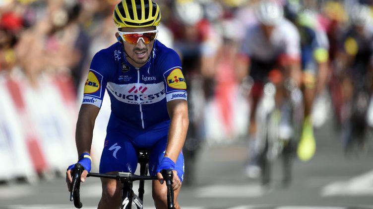 Le cycliste français Julian Alaphilippe. Photo d'illustration 2018. (ALEXANDRE MARCHI / MAXPPP)