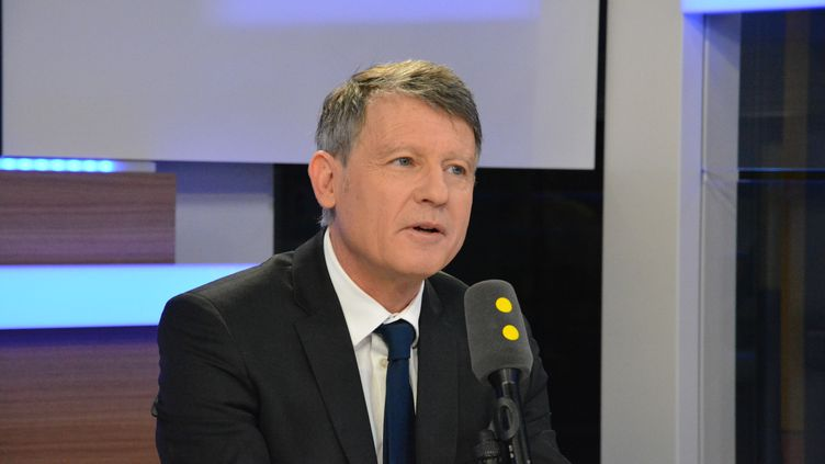 Vincent Peillon,éliminé à la primaire, ancien ministre de l'Education nationale. (RADIO FRANCE / JEAN-CHRISTOPHE BOURDILLAT)