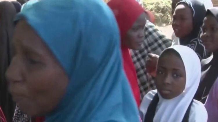 Au Nigéria, 317 adolescentes ont été kidnappées par des hommes armés jeudi 25 février dans le Nord-Ouest du pays. (France 2)