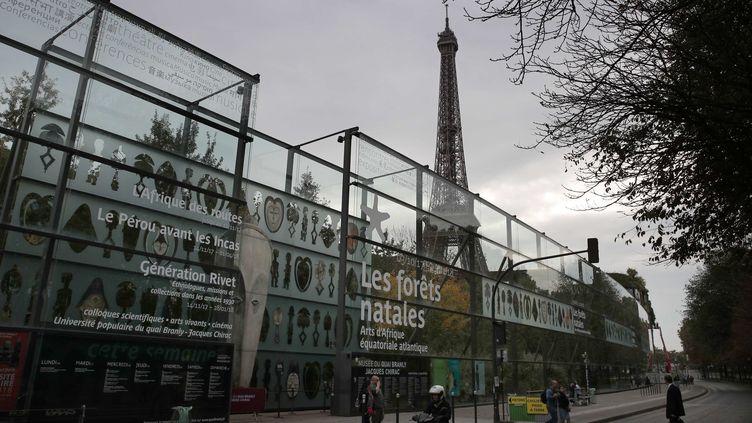 70.000 des 90.000 œuvres à restituer aux pays d'Afrique sont conservées au musée du Quai Branly  (Christophe Ena/AP/SIPA)