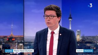 Pierre-Henri Dumont, député LR (France 3)