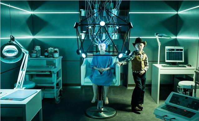 """Kyle Catlett dans """"L'extravagant voyage du jeune et prodigieux T. S. Spivet"""" B de Jean-Pierre Jeunet  (Epithete Films - Tapioce Films - Filmarto - Gaumont - France 2 Cinéma)"""