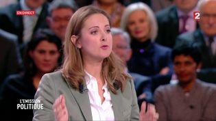 L'humoriste Charline Vanhoenacker, le 5 janvier 2017 sur France 2. (FRANCE 2)