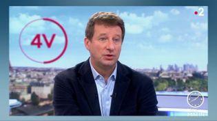 Yannick Jadot, patron d'EELV et eurodéputé. (FRANCE 2)