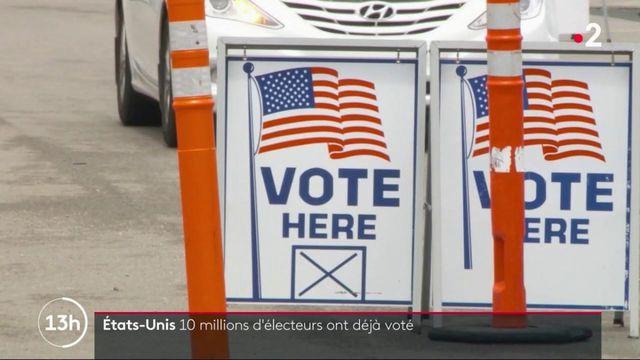 États-Unis : les votes pour l'élection présidentielle démarrent dans un contexte tendu