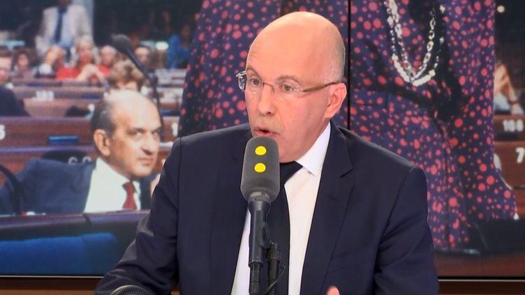 Eric Ciotti, député LR des Alpes-Maritimes, membre de la commission des Lois. (FRANCEINFO)