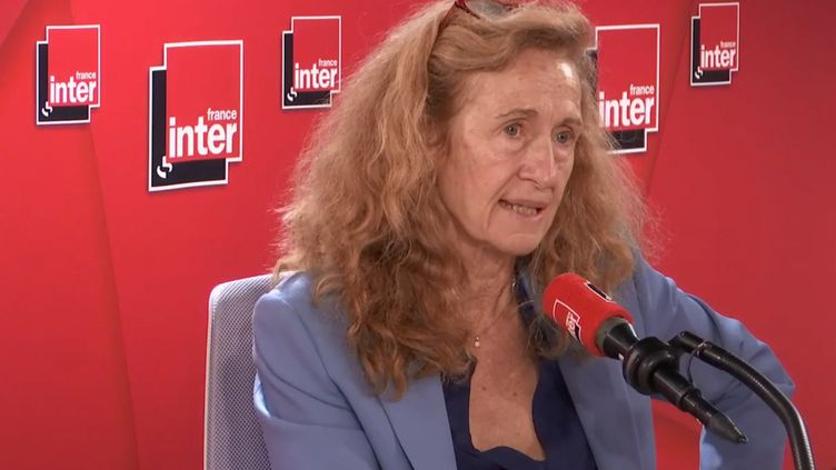 Nicole Belloubet, invitée de France Inter. (RADIO FRANCE)