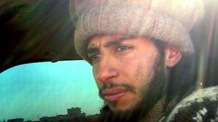 Abdelhamid Abaaoud, jihadiste belge, suspecté d'être le cerveau des attaques terroristes du 13 novembre à Paris. (FRANCE 2)