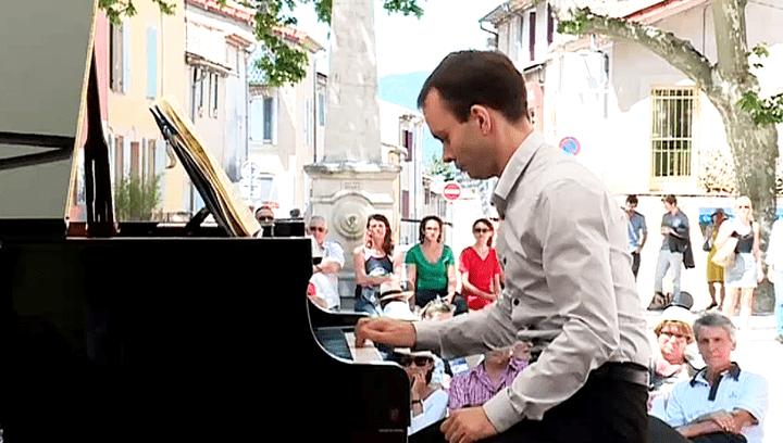 Le pianiste amateurTristan Legris  (France 3 / Culturebox)