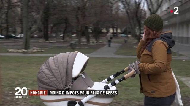 Hongrie : le gouvernement baisse les impôts pour favoriser la natalité