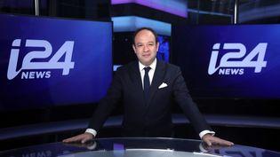 Frank Melloul, PDG d'i24news. (Gideon Markowicz)