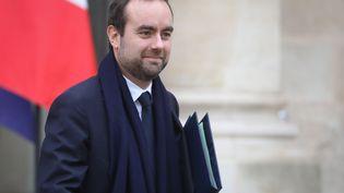 Sébastien Lecornu, leministre en charge des Collectivités territoriales, le 26novembre2018, à Paris. (LUDOVIC MARIN / AFP)