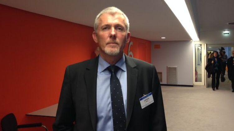 Sten Sorensen, chef de l'unité de prévention du crime, Police du Jutland au Danemark. (Photo Christine Boos)