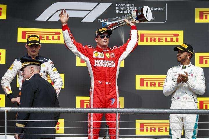 Au GP des Etats-Unis, Kimi Räikkönen a renoué avec la victoire après 114 GP de disette. (HOCH ZWEI / HOCH ZWEI)