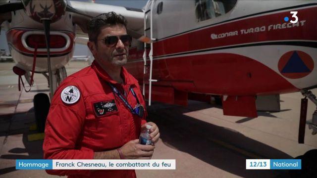 Franck Chesneau, le gardien du ciel