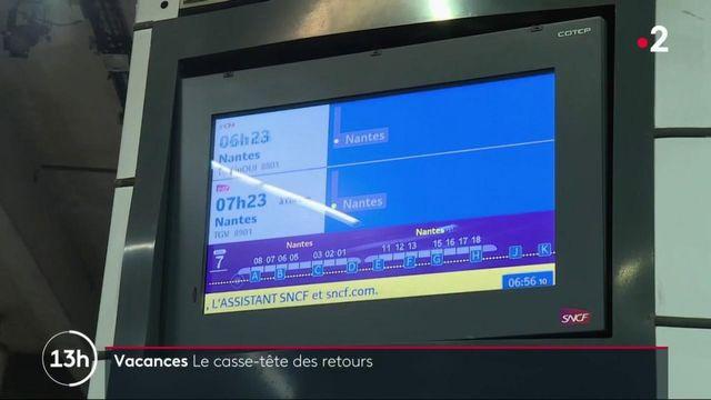 Grève SNCF : le casse-tête des retours de vacances