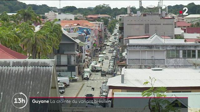 Covid-19 : la Guyane, frappée par la variant brésilien, sous haute surveillance