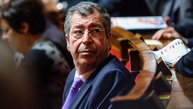 PatrickBalkany, député-maire UMP de Levallois-Perret (Hauts-de-Seine), le 15 octobre 2013 à l'Assemblée nationale, à Paris. (  MAXPPP)