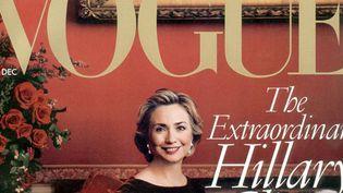 USA: Hillary Clinton à la Une du Vogue US en 1998  (Sipa)