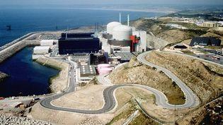 Vue générale dela centrale nucléaire de Flamanville (Manche). (LA PHOTOTHEQUE EDF / SIPA)