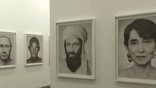 """Les """"portraits"""" plus vrais que nature de Zhang Wei  (France3/culturebox)"""