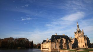 Une image duchâteau de Chantilly (Oise), le 11 novembre 2014 (MAXPPP)