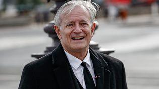 Le comédien Francis Huster à Paris le 9 septembre 2021 (AURELIEN MORISSARD / MAXPPP)