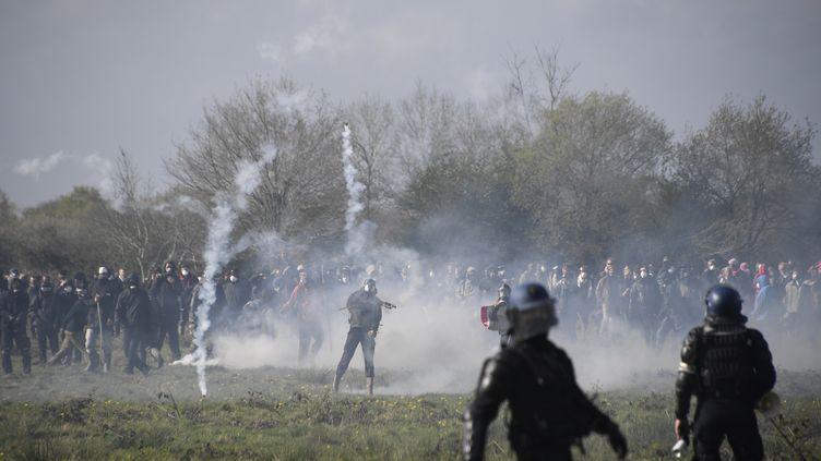 Notre-Dame-des-Landes, le 15 avril 2015. (DAMIEN MEYER / AFP)