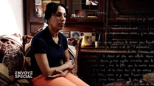 """Pour """"Envoyé spécial"""", elle raconte le départ de sa fille en Syrie. (FRANCE 2 / FRANCETV INFO)"""