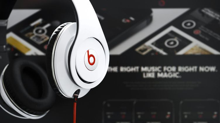 (Apple a acheté la société Beats Electronics © MAXPPP)