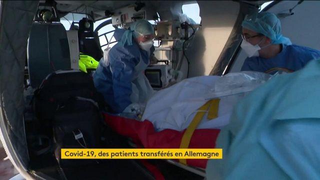 Coronavirus : les transferts de malades français vers l'Allemagne se multiplient