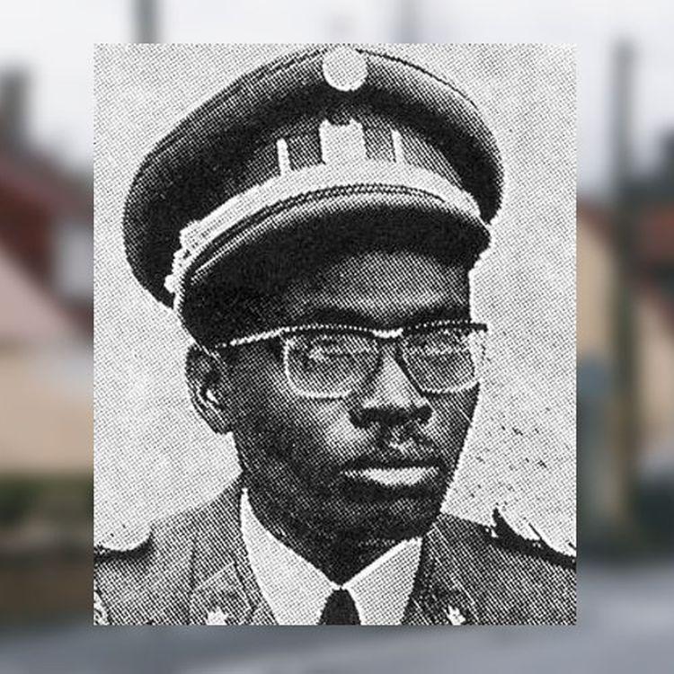 Le colonel Laurent Serubuga (date et lieu inconnus). (DR)