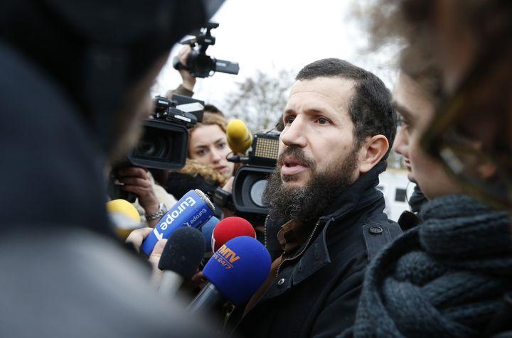 Mohammed Ramdane, le président de l'Association des musulmans de Lagny-sur-Marne (Seine-et-Marne), photographié le 2 décembre 2015. (THOMAS SAMSON / AFP)
