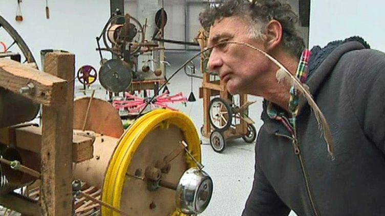 François Klein - Métamachines  (France 3 Culturebox - capture d'écran)
