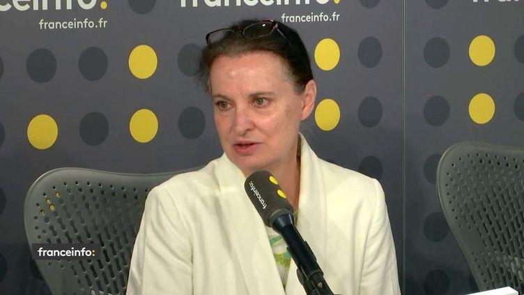 Anne Lavaud, déléguée générale de l'association Prévention routière, était l'invité de franceinfo mercredi 10 juillet. (FRANCEINFO / RADIOFRANCE)