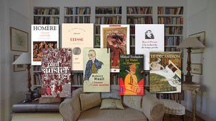 Couvertures de livres à lire pendant le confinement (NEWTON DALY / DIGITAL VISION)