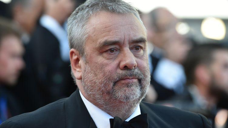 Luc Besson au festival de Cannes, le 20 mai 2016. (ALBERTO PIZZOLI / AFP)