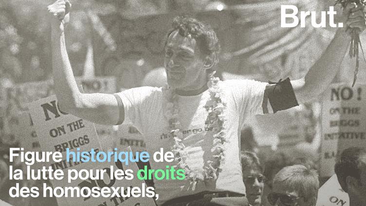 VIDEO. Qui est Harvey Milk, figure historique de la lutte pour les droits des homosexuels ? (BRUT)